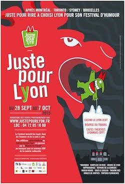 Affiche du festival Juste Pour Rire