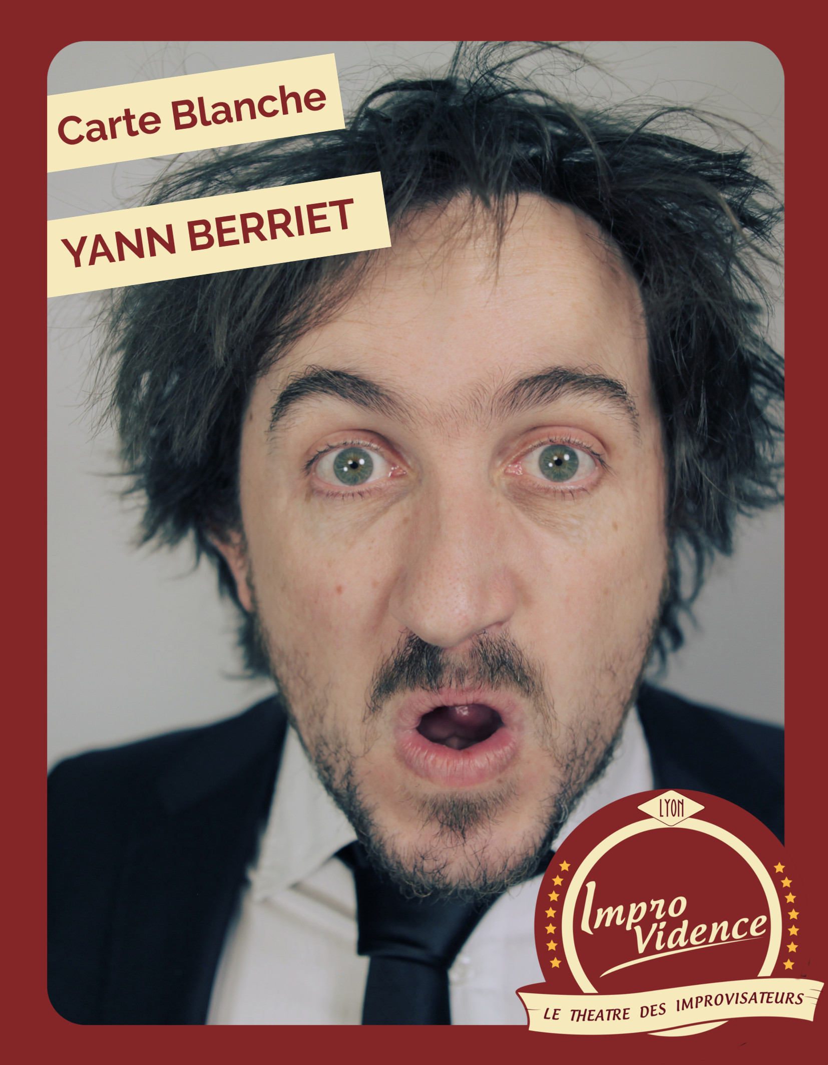 Agenda Spectacle | Improvidence | Carte blanche à Yann Berriet