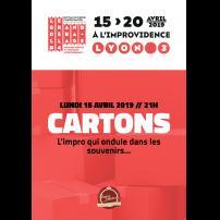 Improvisation Théâtre Improvisation Lyon Théâtre Improvisation Bordeaux Cartons à l'Improvidence