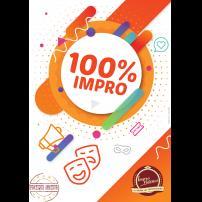 Improvisation Théâtre Improvisation Lyon Théâtre Improvisation Bordeaux 100% IMPRO ! à l'Improvidence