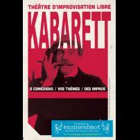 Improvisation Théâtre Improvisation Lyon Théâtre Improvisation Bordeaux Kabarett à l'Improvidence
