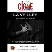 Improvisation Théâtre Improvisation Lyon Théâtre Improvisation Bordeaux La veillée à l'Improvidence