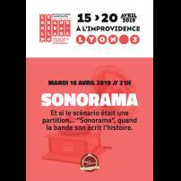 Improvisation Théâtre Improvisation Lyon Théâtre Improvisation Bordeaux SONORAMA à l'Improvidence