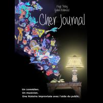 Improvisation Théâtre Improvisation Lyon Théâtre Improvisation Bordeaux Cher journal à l'Improvidence